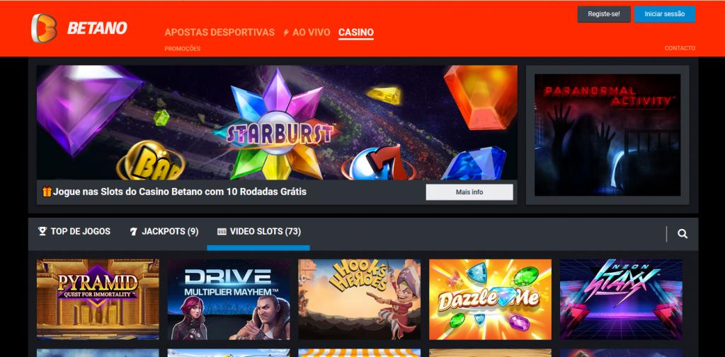 betano casino Portugal